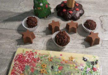 Schokoladen-Weihnachtswerkstatt