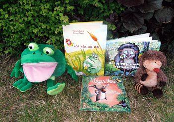 Lesung für Kinder nun am 10.10.; Spielenachmittag im Mai